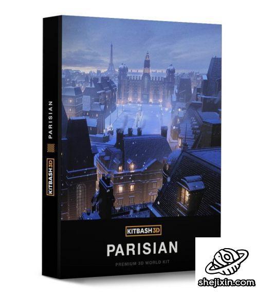 Kitbash3D – Parisian