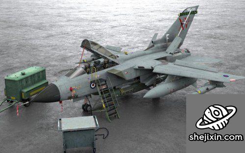 Panavia Tornado GR1 Fighter Jet
