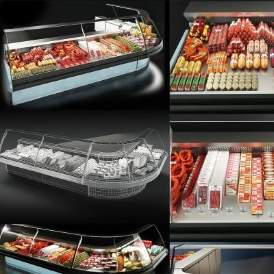 Criocabin evodue超市柜台模型 超市食物模型