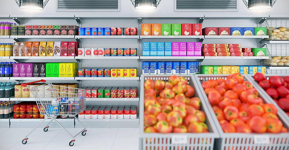 [MAX]超市货架推车商品3D模型 CGAxis Models Volume 52 – 3D Supermarket II,3D模型,C4D之家