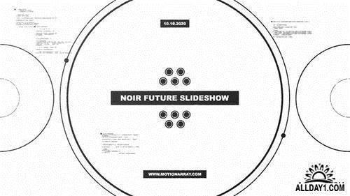 MotionArray Noir Future Slideshow 322966 科幻未来幻灯片AE模板
