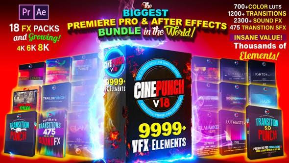 CINEPUNCH - The Biggest Motion Graphics Bundle in the World!