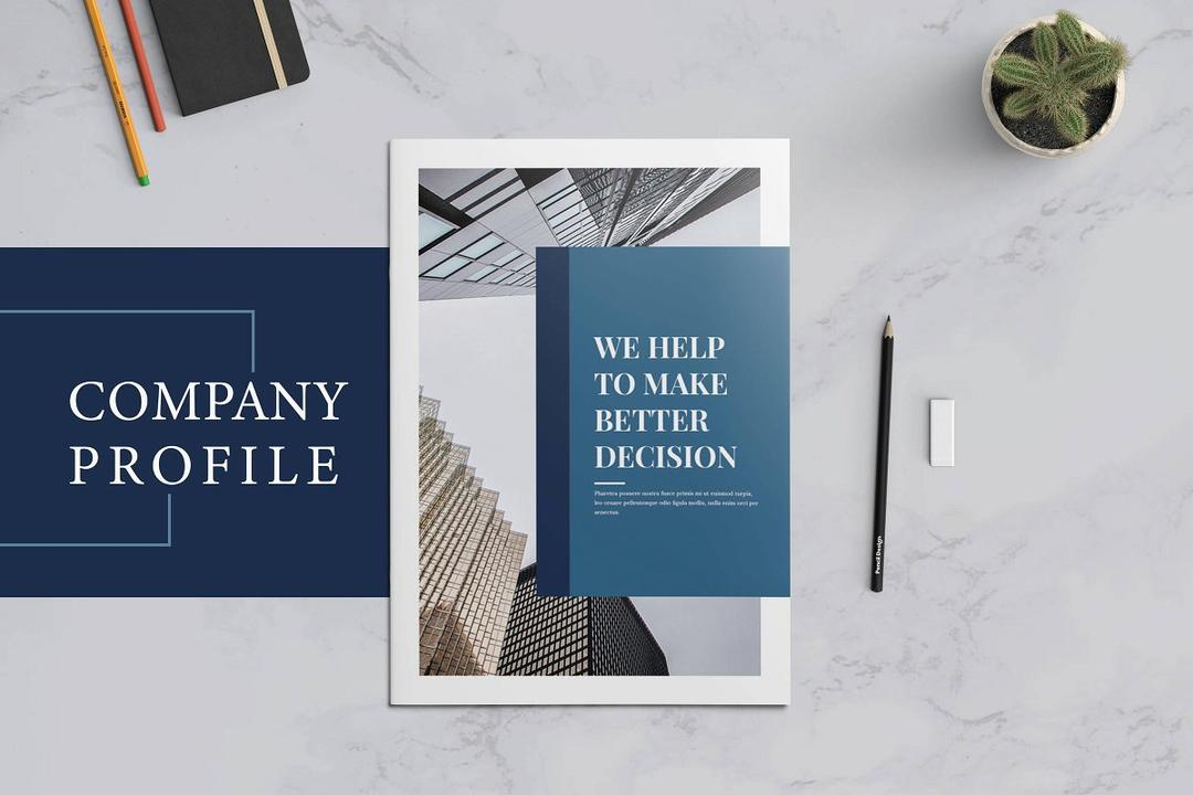 Company Profile Business Brochure 2651116