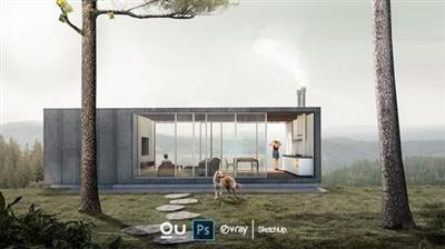 Architecture Post-production in Photoshop 建筑效果图PS后期处理