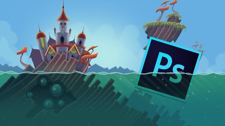 Learn Professional 2D Game Graphic Design in Photoshop (Updated)