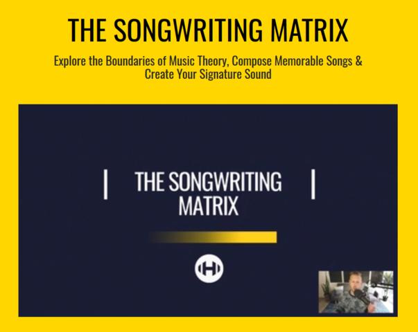 Hyperbits The Songwriting Matrix 2019 TUTORiAL音乐编曲课程