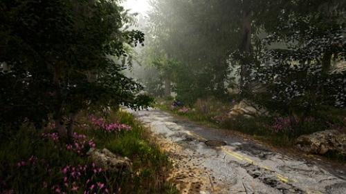 Udemy - Unreal Engine 4  Learn How to Create a  Lost Road  scene