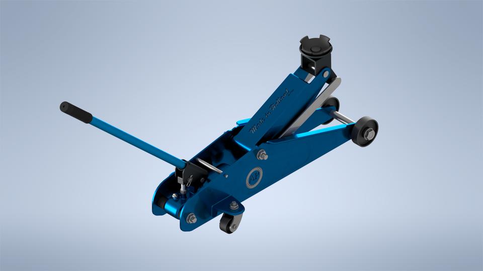 液压千斤顶模型Hydraulic jack-格式:Autodesk Inventor