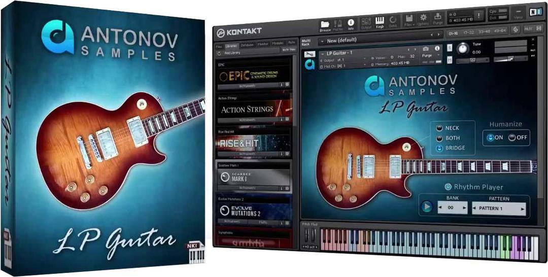 Antonov Samples LP Guitar KONTAKT