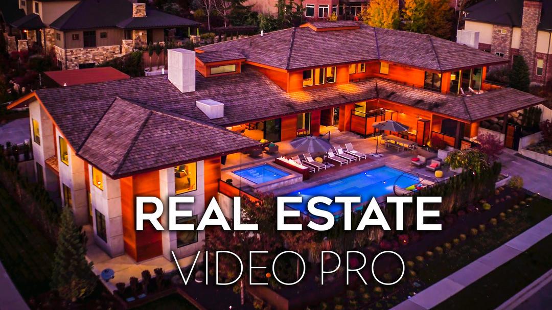 Full Time Filmmaker Real Estate Video Pro全职电影制作人-房地产视频拍摄专业版 中文字幕摄影教程