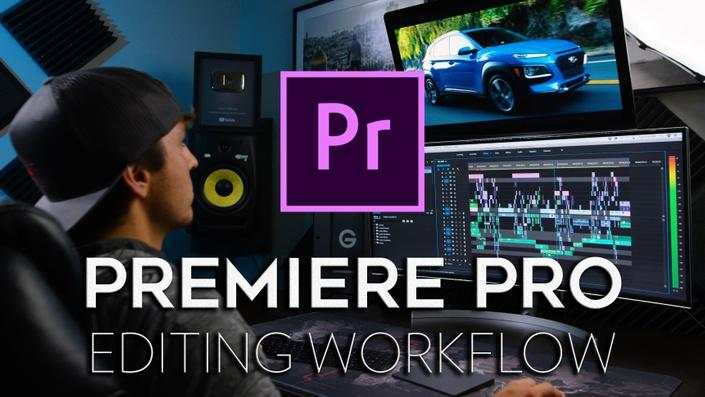 Full Time Filmmaker Premiere Pro Editing Workflow