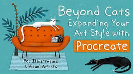 Beyond Cats!  Expanding Your Art Style with Procreate