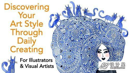 Discovering Your Art Style Through Daily Creating