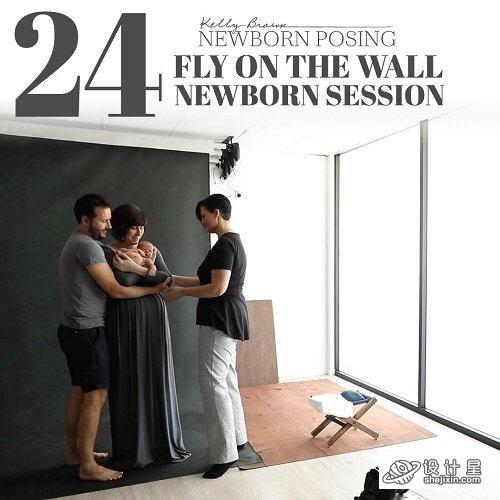 NewbornPosing - Kelly Brown - Fly On The Wall – Newborn Session 1