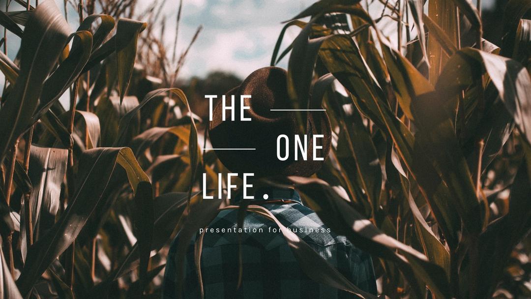 The One Life Presentation