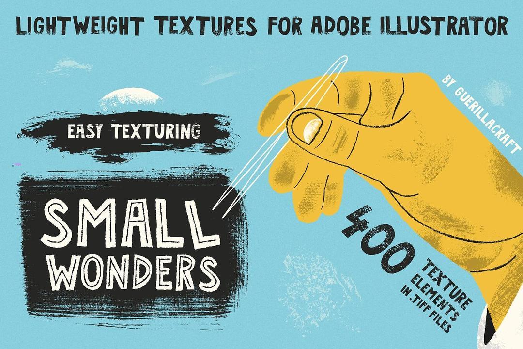 Small Wonders - 400 Texture Elements