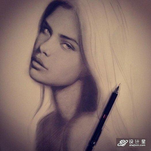 Start Drawing: Techniques for Pencil Portraits 人像绘画技巧课程