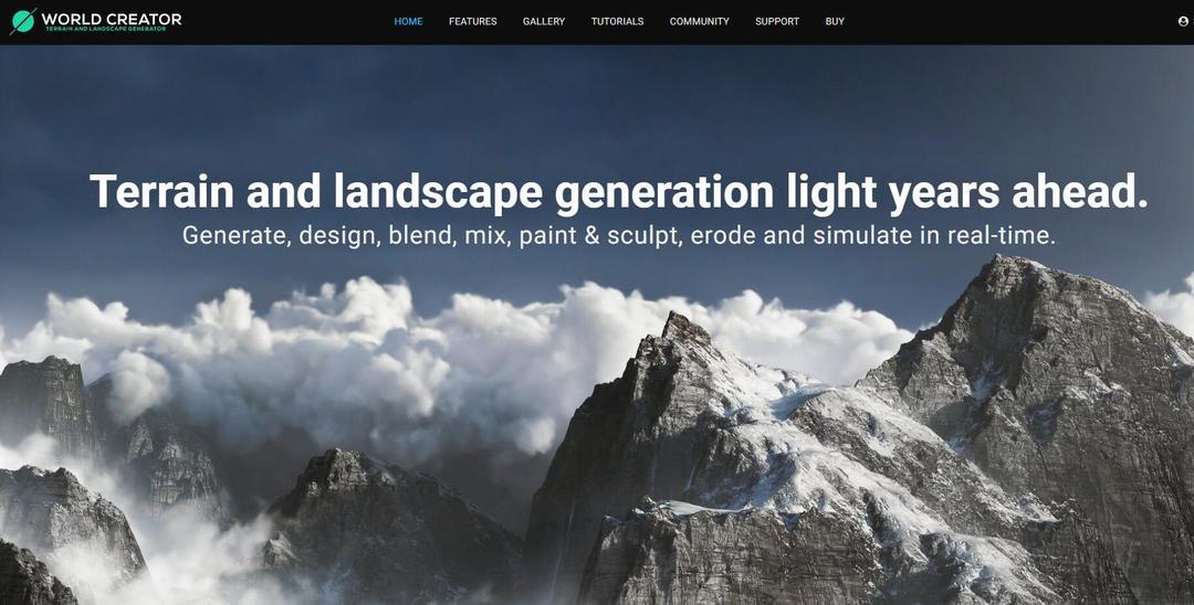 三维地形景观软件World Creator 2.4.0 B1 Win破解版