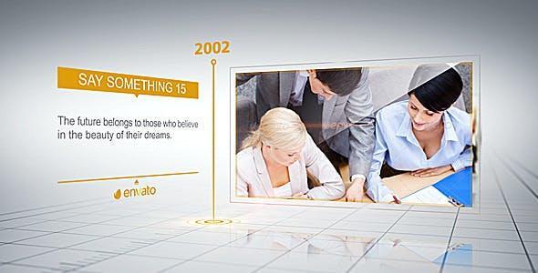 videohive Business Timeline 7611151  企业发展历程宣传片AE模版 公司发展时间线宣传片模版