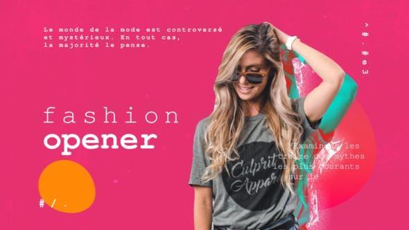 Models Fashion Promo 26013139 模特时装促销AE模版