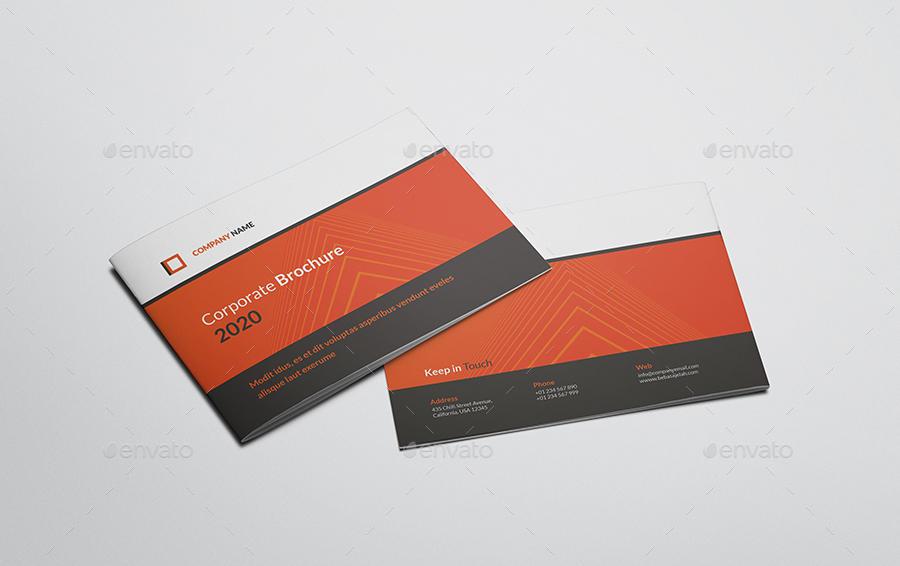 A5 Corporate Brochure 25435739   企业画册模版 公司画册模版
