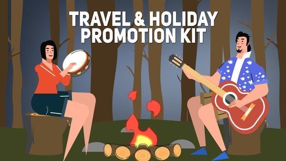 Travel Holiday Promotion Kit 25443546