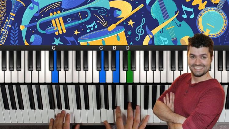 Blues Piano Lessons! A Course In Blues Piano Improvisation