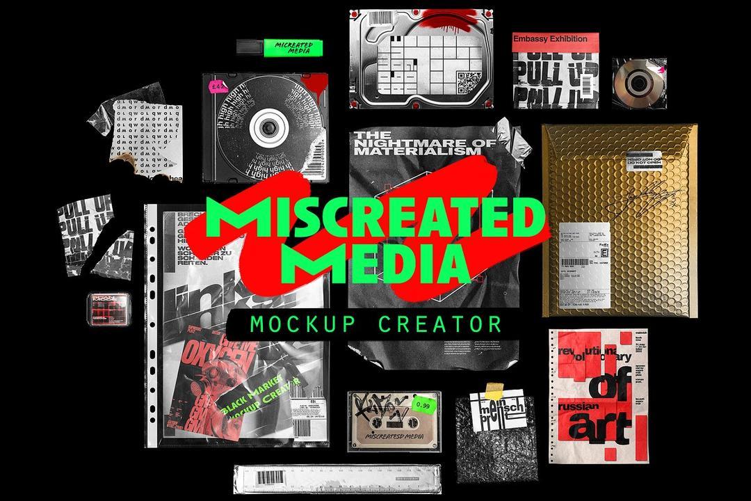 Miscreated Media Mockup Creator 街舞嘻哈时尚潮流场景样机模版