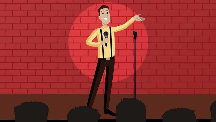 Standup Comedy Humorous Public Speaking Becoming Funnier