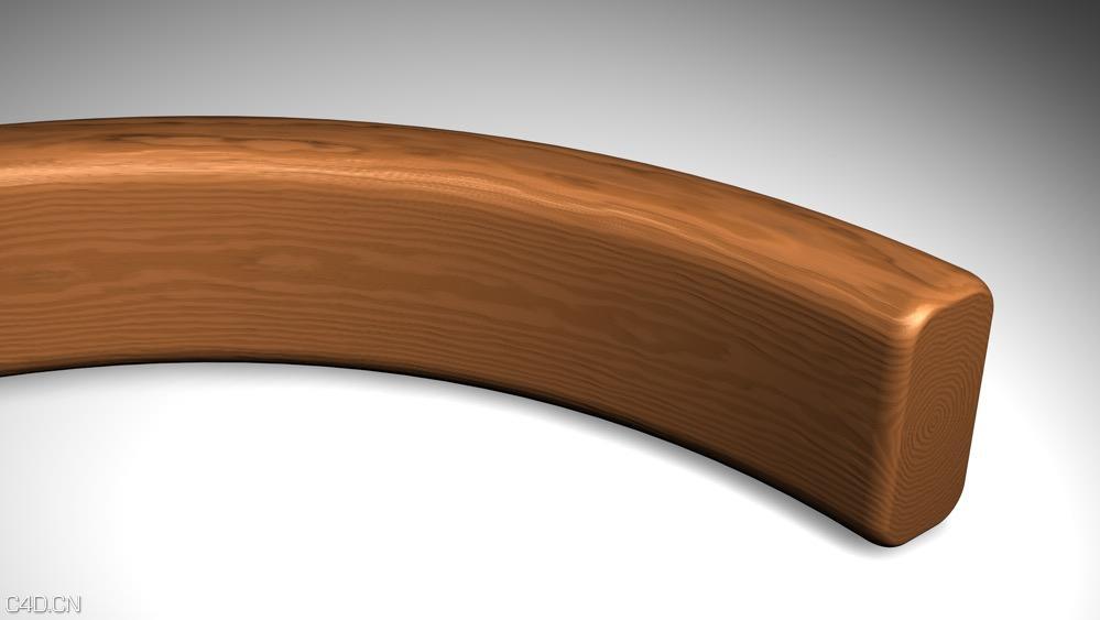 30个C4D木头材质合集 Wood material