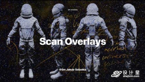 Jakub Sobotka – SCAN OVERLAYS Pro Pack 4K 科幻派对VJ视频素材