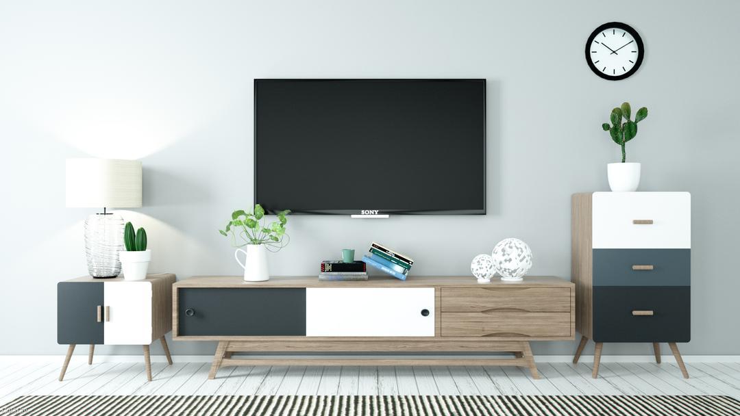北欧电视柜02 3D模型 北欧电视柜 3D模型