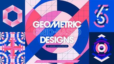 Mastering Illustrator Tools Techniques for Creating Geometric Grid Based Designs