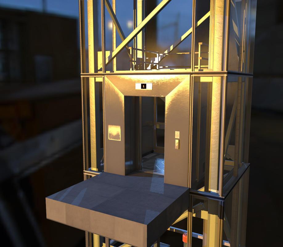Unity3D电梯模型系统 – Moving Elevator System 1.3