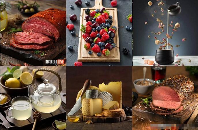 [美食摄影]卡尔·泰勒Karl Taylor美食摄影布光构图造型教程18套-中文字幕