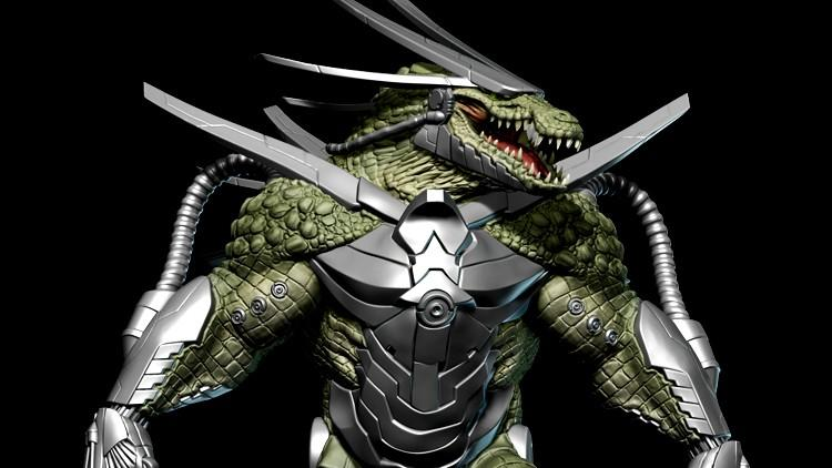 Cyber Reptile Game Character Creation Volume 1  爬行动物游戏角色建模课程
