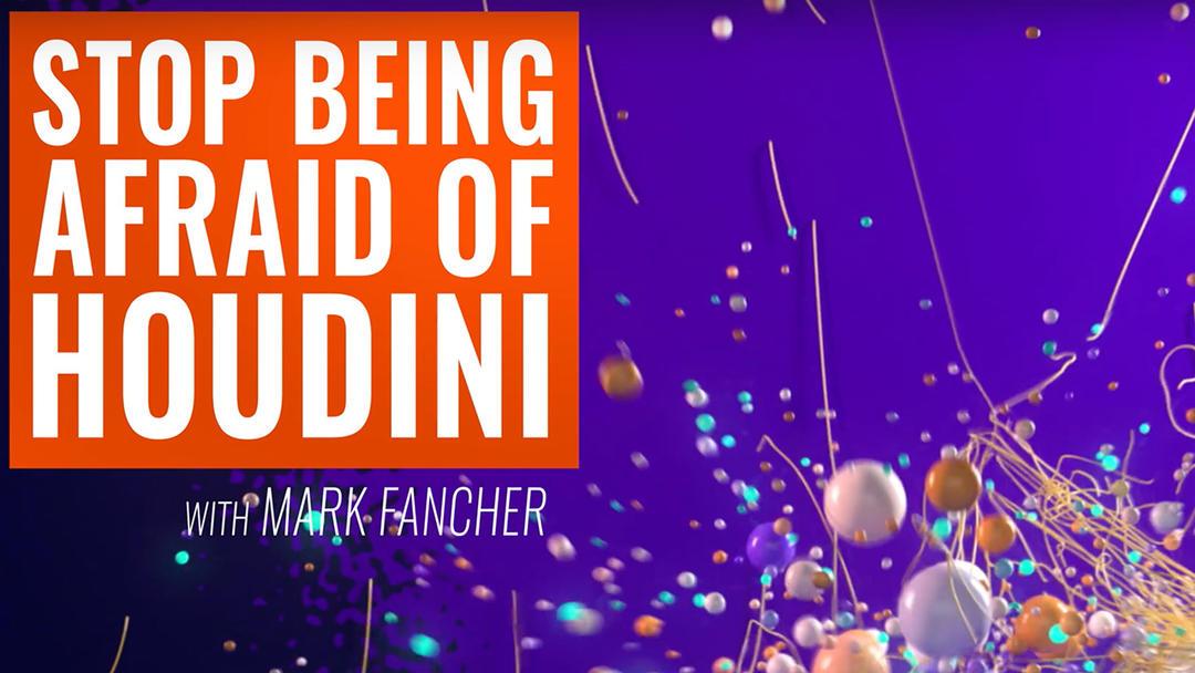 Houdini基础入门学习视频教程 Mograph – Stop Being Afraid of Houdini