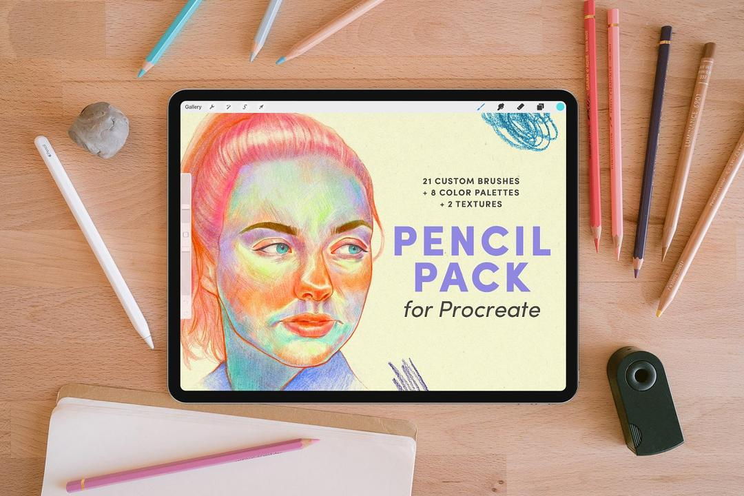 Pencil Pack – Procreate Brushes 4174826