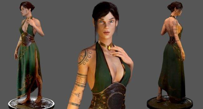 Mythological Female Character – Complete Game Pipeline