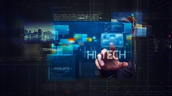 Digital Corporate Promo 20216865 科技公司数字化营销宣传片AE模版