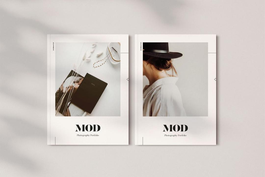 Mod Portfolio 3477506 画册模板 时尚杂志画册模版