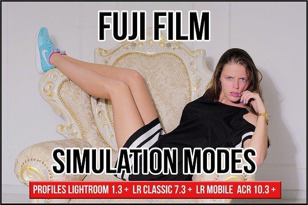Fuji Film Simulation Modes Profiles 3102750