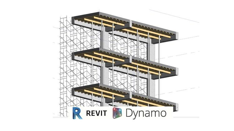 Any Formwork and other temporary Revit 2020 and Dynamo 2.1