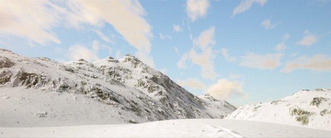 Patreon – Snow Mountain / Houdini / Redshift – Saul Espinosa