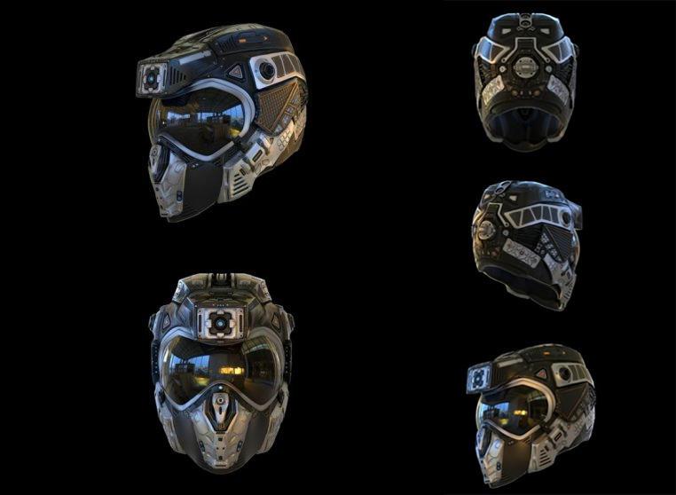 Helmet C19 头盔模型