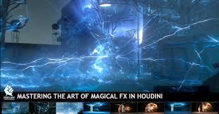 RebelWay - The Art of Magical FX Houdini - 9 Weeks FX胡迪尼特效课程
