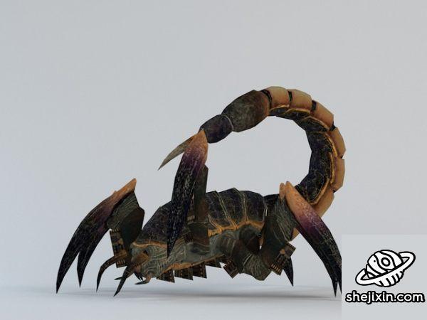Scorpion with animations 蝎子模型