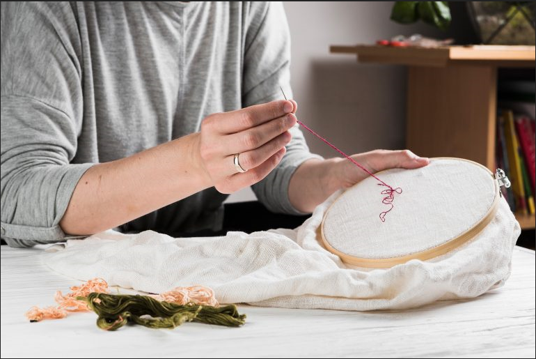 How to Make An Embroidery Pattern for selling on Etsy