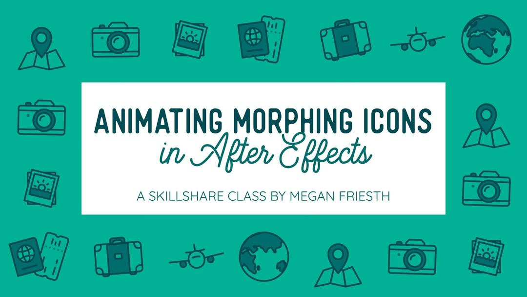 Animating Morphing Icons in After Effects