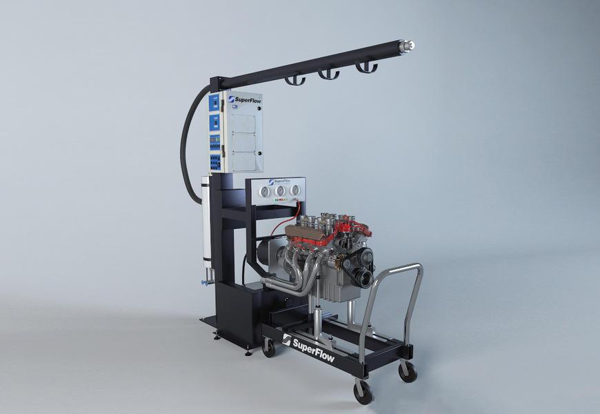 发动机检测仪SuperFlow - a system for checking the characteristics of engine power